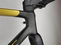 2021 Neue uci schnellste Rennradrahmen und Räder Scheibenbremse bis Achse 100 * 12 142 * 12mm Rennrad Kohlenstoffrahmen