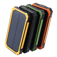 Powerbank 20000mah Solar Charger Battery For Xiaomi Phone External Portable Power Bank For Travel Backup Battery With Light