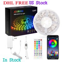 LED Strips Color Changing Light Strips with Remote, Bright 5050, 12V UL   ETL certified Power Supply, for Bedroom Bed Kitchen Bar
