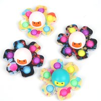 The new pressure-resistant push foam Fidget rotary toy has its pressure relief key chain