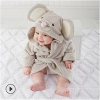 20 Designs Детская ванна с капюшоном Модели для животных ing Baby Hatrombe Мультфильм Baby SPA Полотенце для детской ванны Мать младенческая пляжная полотенца Y200428