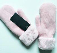 قفازات جلدية دافئة الشتاء الدافئة بالإضافة إلى الصوف شاشة تعمل باللمس ريكس الأرنب الفراء هان النسخة الدراجات المضادة للباردة جلد الغنم القفز