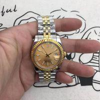Montre homme, cadran de 36 mm, chaîne automatique mécanique, mouvement 2813, bande de montre en acier inoxydable, verre saphir, boucle pliante, grossone
