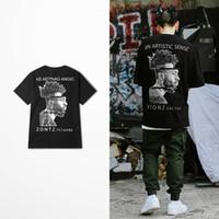 2021 Olarak Yeni Olarak Olarak Mangik Zontz Fctaore Baskı T-shirt Erkekler Yüksek Sokak Kaya Punk Dans Gömlek Erkek Kanye West Coast Top Tee 9O6C