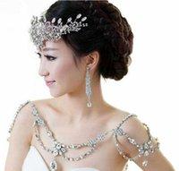 Bridal Halskette 2021 Neue Designer Bridal Schulterkette Hochzeit Mode Schulterkette Freies Verschiffen 030405