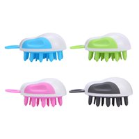 Soft tooth air bag shampoo brush adult household shampoo comb head massage cleaning shampoo comb scalp grab