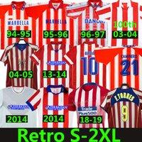 Atletico Madrid Futbol Formaları Retro Klasik Bağbozumu 1994 95 96 97 2003 Centenary 04 05 2013 14 15 F.Torres Simeone Arda Griezmann Falcao Gabi Courtois Futbol Gömlekleri