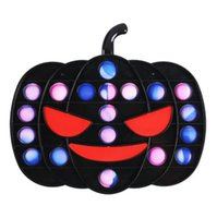 Halloween Pumpkin game toys Fidget Toy Push Bubble Sensory Stress Relief for children wholesale-TOPN357