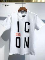 DSQPHANTOM TURTLE 2021SS New Mens Designer T shirt Paris fashion Tshirts Summer DSQPattern T-shirt Male Top Quality 100% Cotto gCi