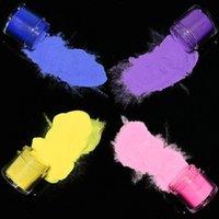 Quality10bottles / set (al azar) 3 en 1 Nail Acrílico Polvo Polímero Dumping Extensión Talla Manicura Gel Nail Polvo de color Powder TC # 33