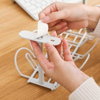 Cable Holder Shelf Tray Wire Cord Power Strip Adapter Organizer Household Hanging Cables Storage Rack Store Basket