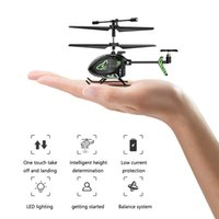 Drones Syma S100 Original RC Helicopter 2.4G Remote Control Intelligent Fixed Height UAV Mini Plane Toys For Children