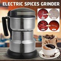 400W 220V Granos Especias Tóbal Cereal Coffee Food Seco Grinder Molino Máquina de molienda Gristmill Inicio Medicina Harina Powder Trituradora