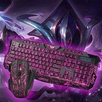 Rato 5500dpi ajustável + 114keys USB teclado teclado teclado teclado mouse combo anti-fantasma colorido backlit para jogos gamer
