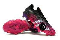2021 boots Predator Freak .1 Low FG pink black white men football shoes 21st generation knitted low-cut knitt fanatic TF broken nail mens soccer shoe