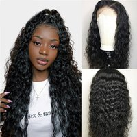 Lace Wigs Haever 30 Inch Water Wave 13x4 Frontal Human Hair Plucked Brazilian 4X4 Closure Wig For Black Women