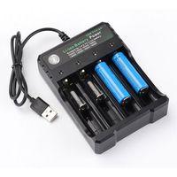 4.2V 18650 carregador li-ion bateria usb independente portátil portátil 18650 18500 16340 14500 26650 carregador de bateria