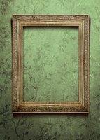 Fondo de fondo de papel tapiz de patrón verde Fondo de tela de fondo de tela de fondo para niños Retrato Photoshoot Foto de estudio
