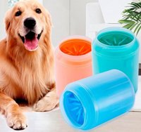 Beauty Tools Dog Paw Cleaner Cup Soft Silicone Combs Portable Foot Washer Clean Brush Quickly Wash Dirty Cleaning Bucket