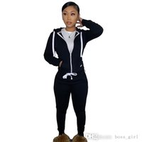THICK Winter Womens Plush Sweater Designer Sports Tracksuits Joggers Pants Two Piece Pants Set Hoodies Drawstring Zip Outfits