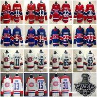 Herren Kinder Montreal Canadiens Stanley Cup Final Nick Suzuki Caufield Carey Preis Max Domi Shea Weber Gallagher 17 Josh Anderson 15 Jessperi Kotkaniemi Hockey Trikots