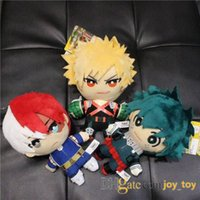 Мой герой академии плюшевые игрушки 15см фаршированной куклы фигурку сумка кулон цепь цепи мидория Izuku Bakuugou Katsuki Tooroki Shoto кукла игрушки