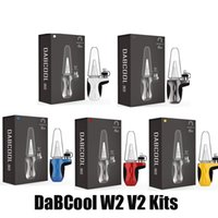 Kit de mise à niveau DABCOOL W2 V2 100% Original DAB DAB RIM Cire COÛT Vaporisateur Température Control Bol 1500mAh Batterie Mod Dispositif Kits Vape Inscrivez-vous authentique