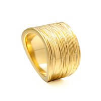 VAROLE Punk Winding Thin Wire Rings For Women Gold Color Ring Charm Fashion Jewelry Party Anillos Mujer