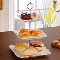 3 stufe kuchen cupcake platte stand handhabung hardware montierhalter diy kuchen plattierte ashflokh polig 3 schichten kuchenhalter