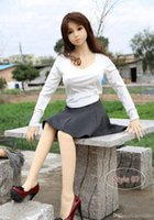 158cm New realistic full silicone sex doll for man oral adult,B-cup breast love doll full body sex toys real pussy Free Shipping 90 16