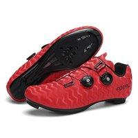 Calçados Calçados Profissional Atlético Sapatos de Bicicleta Homens Self-Locking Road Bicicleta Mulheres Sneakers