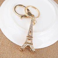 Chaveiros Felyskep Moda Eiffel Tower Keychain para lembranças chave, Paris Tour Chain Chain Titular de decoração 134AZL