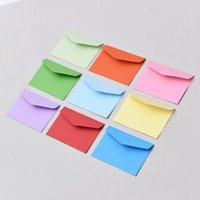Gift Wrap 10pcs Solid Color Paper Envelope For Invitation Greeting Card Postcard