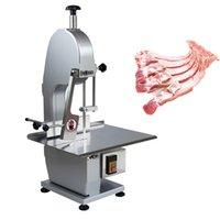 1500W elektrische Knochensägemaschine vollautomatisch gefrorener Fleisch Slicer kommerzielle Schneidrippen / Fisch / Fleisch / Rindfleisch