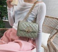 حقيبة الإناث جديد 2021 الأزياء رسول حقيبة عصري النمط الغربي سلسلة حقيبة صغيرة