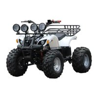 Electric atv four-wheel off-road motorcycles adult stereo lights shaft driving scooters