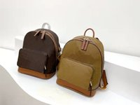 Backpack Girl Handbag Color Contrast With Old Flowers High Quality School Bags For Women Teenage Girls Handbags Luxury Designer Canvas Backpacks