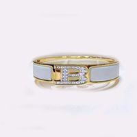 Hohe Qualität 12mm Frauen Gold Armreifen Edelstahl 18 Karat Gold Armband Designer Schmuck Armbänder H GESCHENK LINK