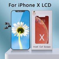 AAA ++ RJ Incell Ecran ل iPhone X شاشة LCD استبدال شاشة LCD مع مجموعة كبيرة ثلاثية الأبعاد تعمل باللمس Pantalla مثالية إصلاح LCD