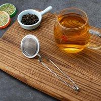 En Kaliteli Çay Demlik Aracı Paslanmaz Çelik Küre Örgü Süzgeç Kahve Ot Baharat Filtre Difüzör Kolu Topu ZWL750