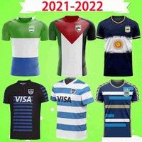 2021 2022 Liga de Rugby Jersey Argentina Palestina Sierra Leone National Team Rugby Camisa Uniforme 21 22 Soccer Mens T-shirt Uniforme Conceito de Futebol Versão