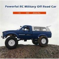 WPL C24 RC سيارة 1:16 4WD 2.4 جرام راديو التحكم في الطرق الوعرة اكسسوارات ترقية عربات التي تجرها الدواب الكهربائية تتحرك آلة سيارة أطفال اللعب هدية 210809