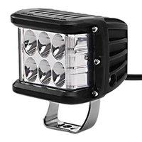 Çalışma Işık 12 V-32V 45 W Çalışma Yan Shooter ATV SUV Kamyon Için LED Bar Combo Strobe Lambası