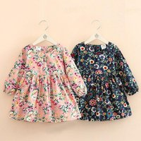 2021 Autumn Spring 2- 10 Years Gift Clothing Sweet Cute Long ...