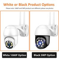 5MP PTZ Wifi IP Camera 1080P Outdoor or indoor 4X Digital Zoom Security CCTV AI Human Detect Auto Tracking P2P Wireless