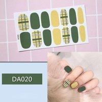 Nagelgel Instant Kunst Aufkleber Nägel Wrapfolie DIY Maniküre Dekor Tipps