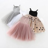 Girl's Dresses Little Girls Dress For Party Wedding Summer 2021 Baby Kids Children's Princess Tutu Casual Clothes