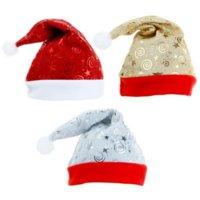 Yumuşak Peluş Noel Santa Şapka Kış Sıcak Noel Yüksek dereceli Peluş Yetişkin Şapka Kalınlaşma Noel Süs Dekorasyon 496