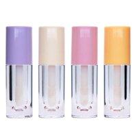 Storage Bottles & Jars 6.5ML Empty Lip Gloss Tube DIY Plastic Elegant Transparent Bottle Liquid Lipstick Container Round Lipgloss