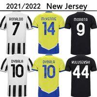 DYBALA CHIESA 21 22 soccer jersey LOCATELLI KEAN KAIO JORGE MORATA KULUSEVSKI football shirt DE LIGT juventus Camiseta fútbol 2021 2022